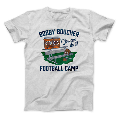 Bobby Boucher Football Camp Men/Unisex T-Shirt-Ash - Famous IRL