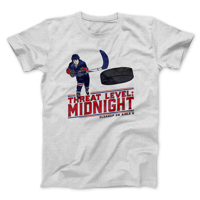 Threat Level: Midnight Men/Unisex T-Shirt-Ash - Famous IRL