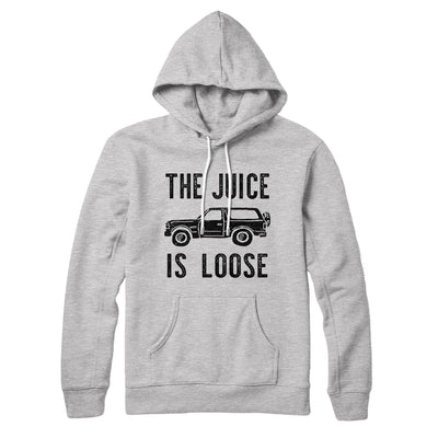 The Juice is Loose Hoodie-Athletic Heather - Famous IRL