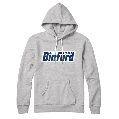 Binford Tools Hoodie-Athletic Heather - Famous IRL