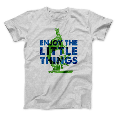 Enjoy the Little Things Men/Unisex T-Shirt-Athletic Heather - Famous IRL