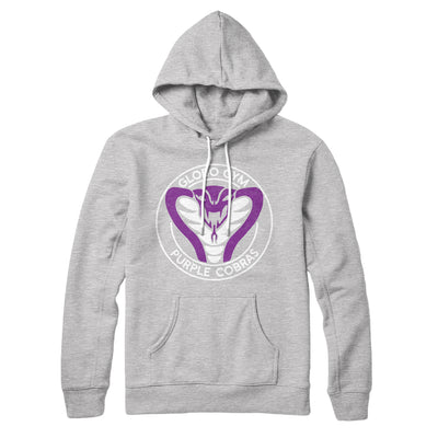 Globo Gym Purple Cobras Hoodie-Athletic Heather - Famous IRL