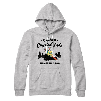 Camp Crystal Lake Hoodie-Athletic Heather - Famous IRL