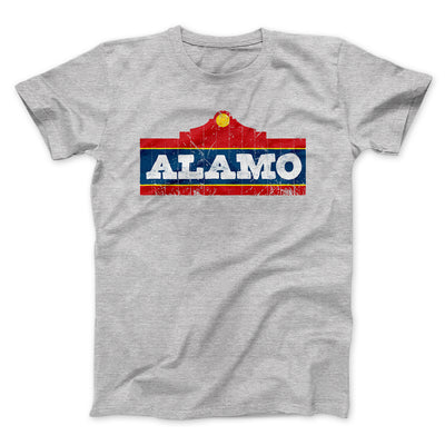 Alamo Beer Men/Unisex T-Shirt-Athletic Heather - Famous IRL