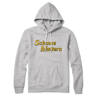 Science Matters Hoodie-Hoodie-White Label DTG-S-Athletic Heather-Famous IRL