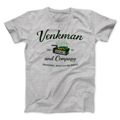 Venkman and Company Men/Unisex T-Shirt-Athletic Heather - Famous IRL
