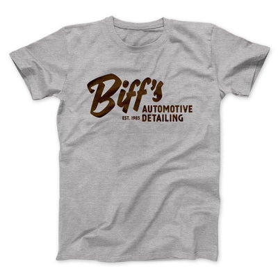 Biff's Auto Detailing Men/Unisex T-Shirt-Athletic Heather - Famous IRL