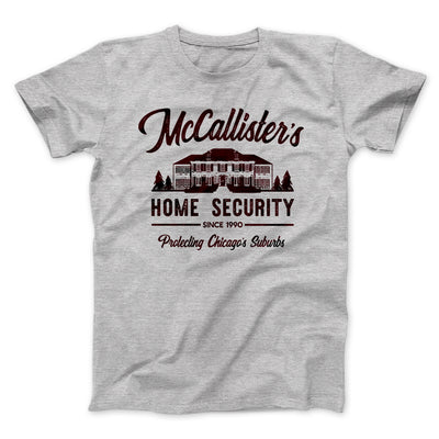 McCallister's Home Security Men/Unisex T-Shirt-Athletic Heather - Famous IRL