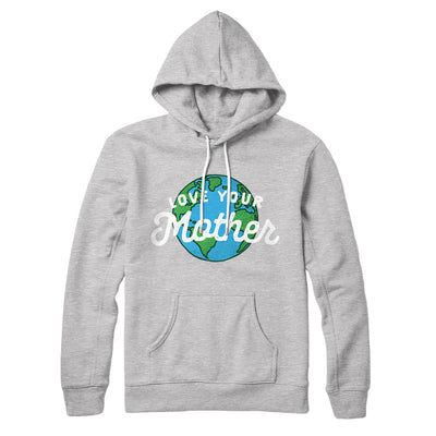 Love Your Mother Earth Hoodie-Athletic Heather - Famous IRL
