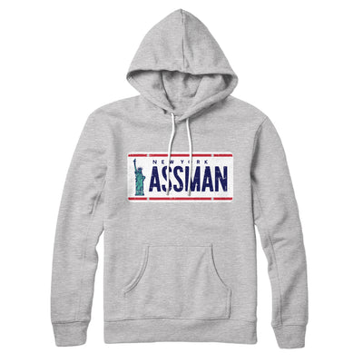 Assman Hoodie-Athletic Heather - Famous IRL