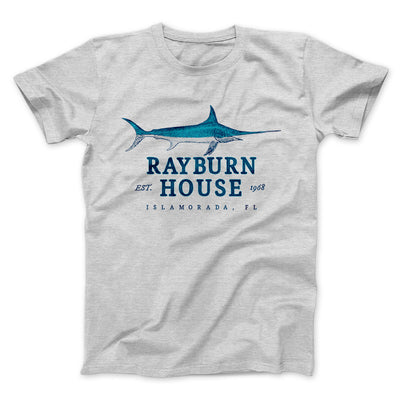 Rayburn House Men/Unisex T-Shirt-Athletic Heather - Famous IRL