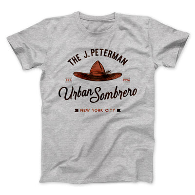 J. Peterman Urban Sombrero Men/Unisex T-Shirt-Athletic Heather - Famous IRL