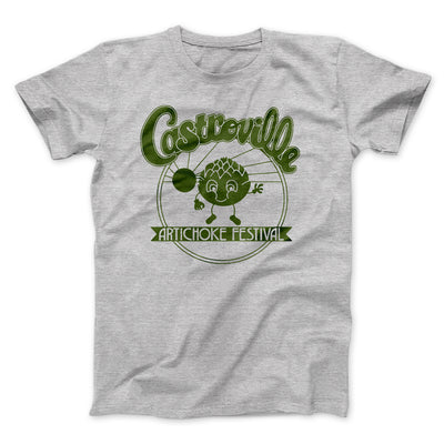 Castroville Artichoke Festival Men/Unisex T-Shirt-Athletic Heather - Famous IRL