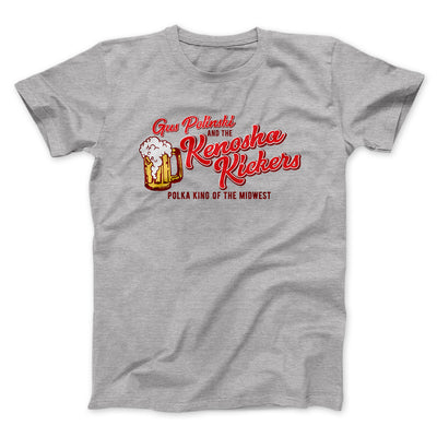 Kenosha Kickers Men/Unisex T-Shirt-Athletic Heather - Famous IRL