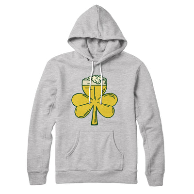 Beer Shamrock Hoodie - Famous IRL Funny and Ironic T-Shirts and Apparel