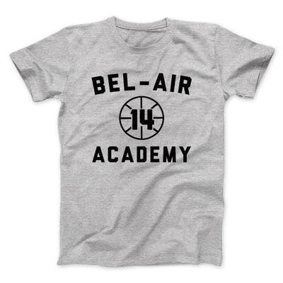 Bel-Air Academy Basketball Men/Unisex T-Shirt-Athletic Heather - Famous IRL