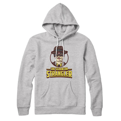 The Scranton Strangler Hoodie-Athletic Heather - Famous IRL