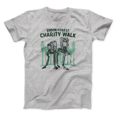 Endor Forest Charity Walk Men/Unisex T-Shirt-Athletic Heather - Famous IRL