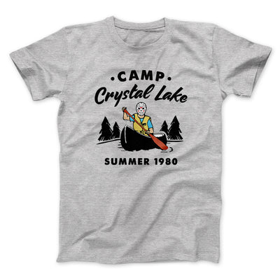 Camp Crystal Lake Men/Unisex T-Shirt-Athletic Heather - Famous IRL