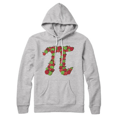 Apple Pi Hoodie-Athletic Heather - Famous IRL