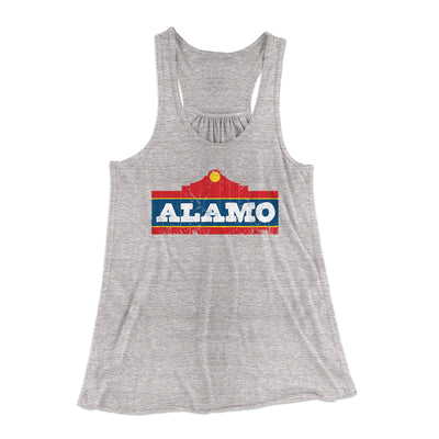 Alamo Beer Women's Flowey Racerback Tank-Athletic Heather - Famous IRL