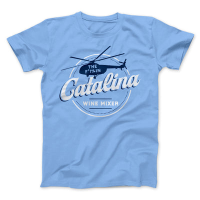 The Catalina Wine Mixer Men/Unisex T-Shirt-T-Shirt-Printify-Baby Blue-S-Famous IRL