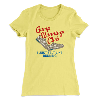 Gump Running Club Women's T-Shirt
