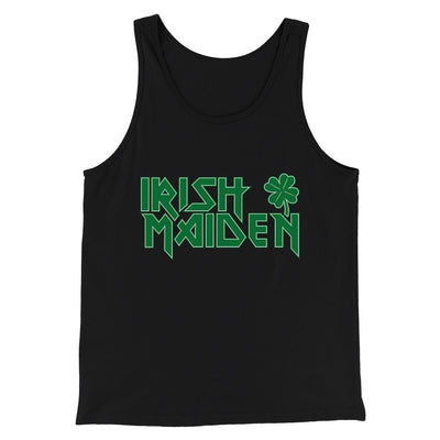 Irish Maiden Men/Unisex Tank-Black - Famous IRL