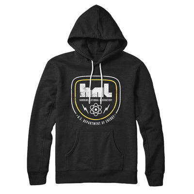Hawkins National Laboratory Hoodie-Black - Famous IRL