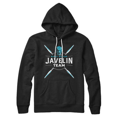 White Walker Javelin Team Hoodie-Black - Famous IRL