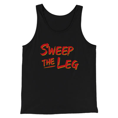 Sweep The Leg Men/Unisex Tank