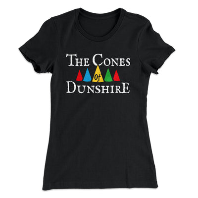 The Cones of Dunshire Women's T-Shirt-Solid Black - Famous IRL