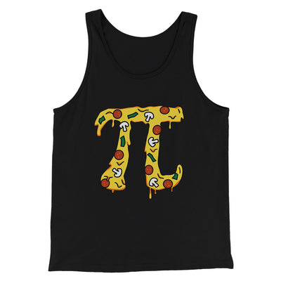 Pizza Pi Men/Unisex Tank-Black - Famous IRL