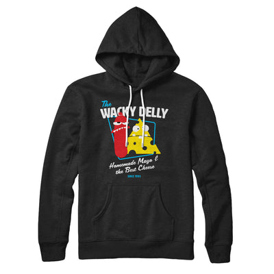 The Wacky Delly Hoodie-Black - Famous IRL