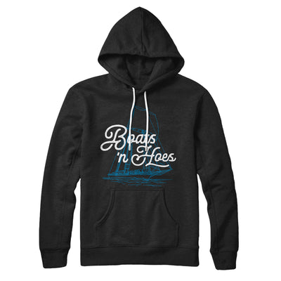 Boats 'N Hoes Hoodie-Black - Famous IRL