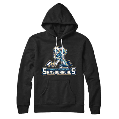 Sunnyvale Samsquanches Hoodie-Black - Famous IRL