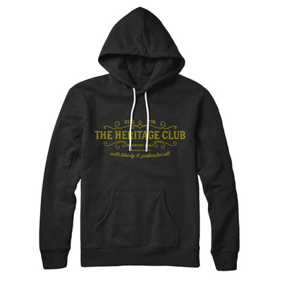 The Heritage Club Hoodie-Black - Famous IRL