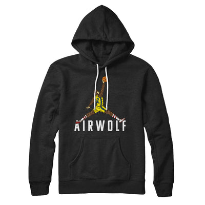 Air Wolf Hoodie-Black - Famous IRL
