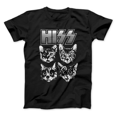 Hiss Men/Unisex T-Shirt-Black - Famous IRL