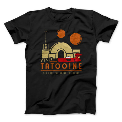 Visit Tatooine Men/Unisex T-Shirt-Black - Famous IRL