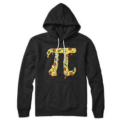 Pizza Pi Hoodie-Black - Famous IRL