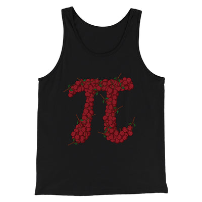 Cherry Pi Men/Unisex Tank-Black - Famous IRL