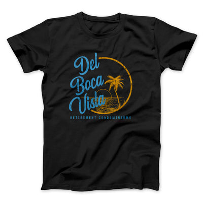 Del Boca Vista Men/Unisex T-Shirt-Black - Famous IRL