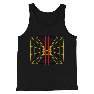 Stay On Target Men/Unisex Tank-Black - Famous IRL