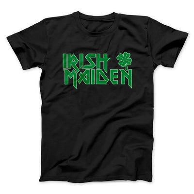 Irish Maiden Men/Unisex T-Shirt-Black - Famous IRL