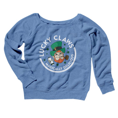 Lucky Claws Women's Scoopneck Sweatshirt