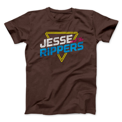 Jesse and the Rippers Men/Unisex T-Shirt-Brown - Famous IRL