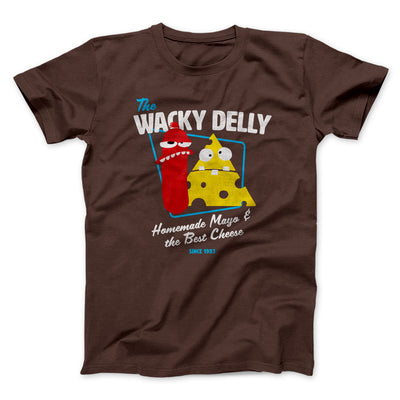 The Wacky Delly Men/Unisex T-Shirt-Brown - Famous IRL