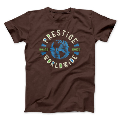 Prestige Worldwide Men/Unisex T-Shirt-Brown - Famous IRL
