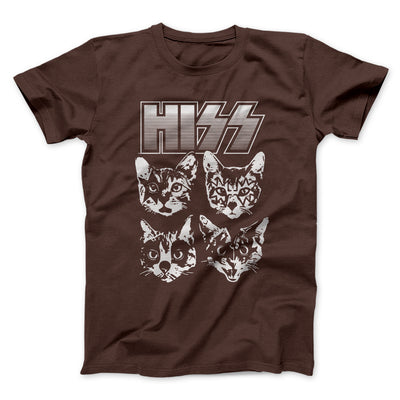 Hiss Men/Unisex T-Shirt-Brown - Famous IRL